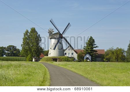 Windmill Wegholm (petershagen, Germany)