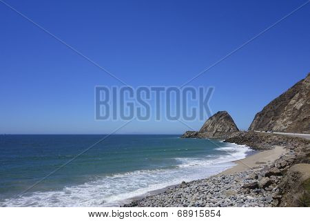 Beach At Point Mugu, Socal