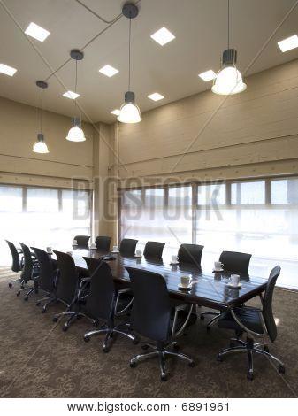 Modern Office Meeting Space