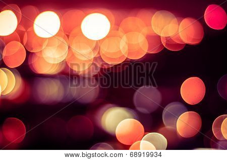 circles shape light bokeh