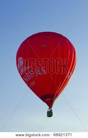 Red Stumbras Balloon