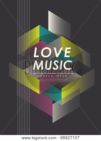 Modern Love Music Poster