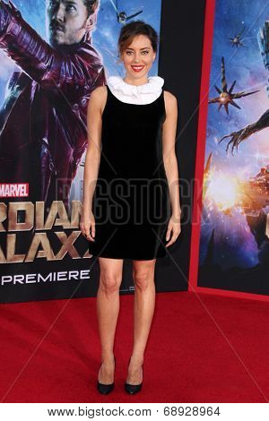 LOS ANGELES - JUL 21:  Aubrey Plaza at the