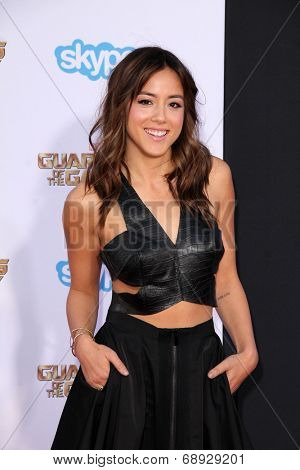 LOS ANGELES - JUL 21:  Chloe Bennet at the