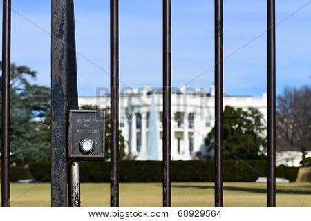 The White House with