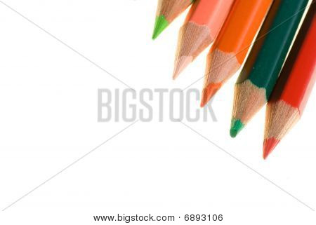 Color Wooden Pencils