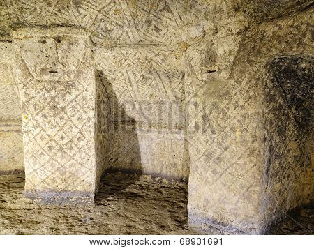 Ancient Tomb In Tierradentro,colombia,