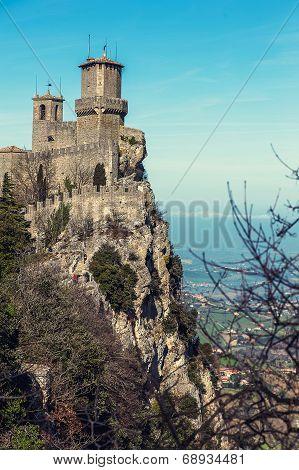 Rocca Della Guaita Fortress In San Marino