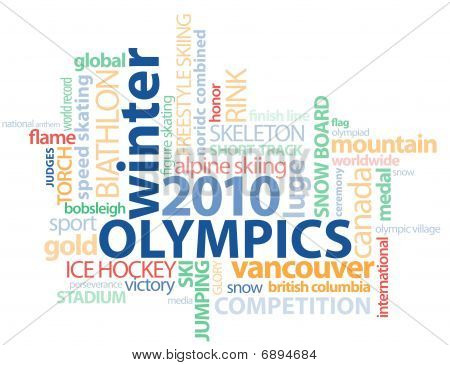 Vancouver Word Graphic