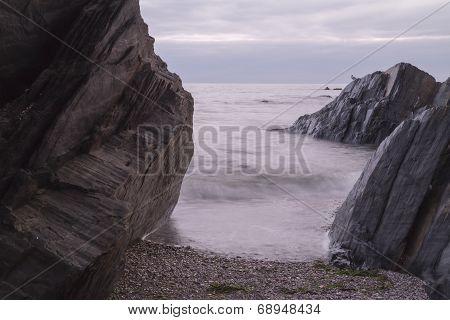 Through The Rocks.