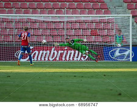 Matus Kozacik - FC Viktoria Plzen goalkeeper.