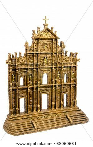 Ruins Of St. Paul's Church Souvenir, Macao