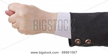 Side View Of Fig Sign - Hand Gesture