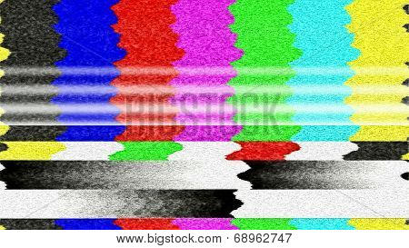 TV Color Bars 0218