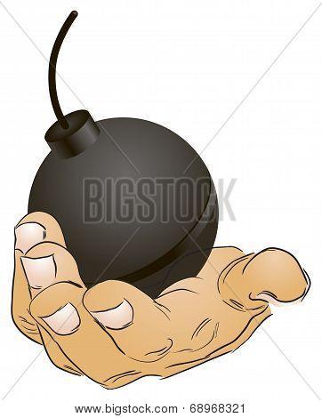 Steel Spherical Bomb