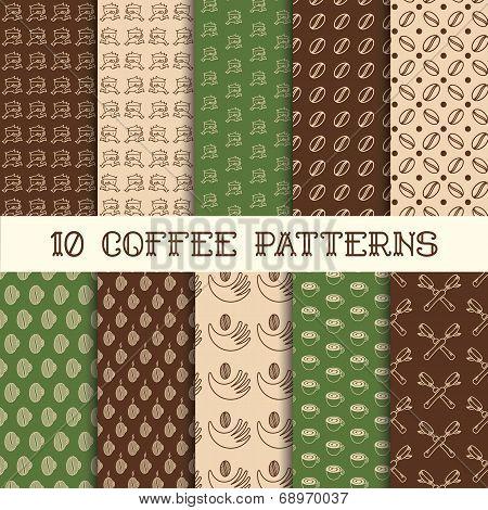 Ten Coffee Patterns