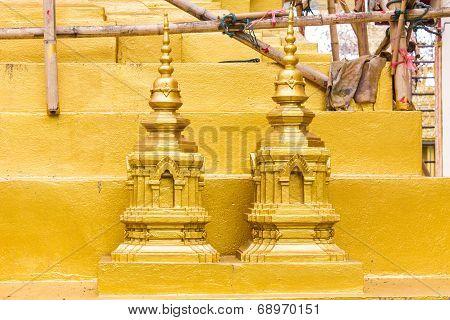 Phra That Doi Tung Pagoda Model
