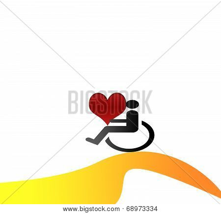 Disabled sign symbols and disability issues