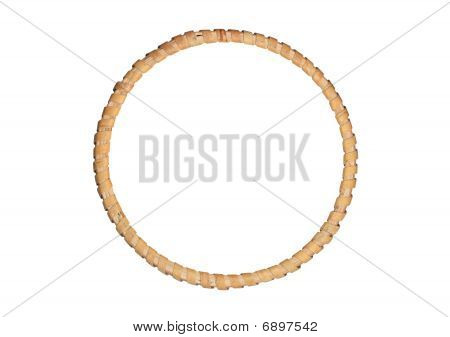 Round Picture Wooden Frame
