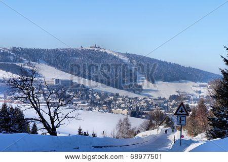 The Erzgebirge in the winter