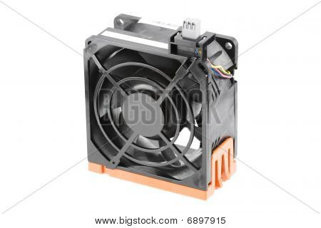 Cooling Fan In Black Bracket