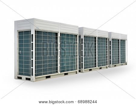 Air conditioner ventilators for power and energy