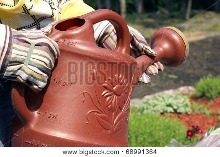 Carrying A Water Jug