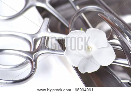 Surgical Tools With Flower