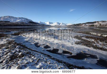 Winter on Loch Eil.
