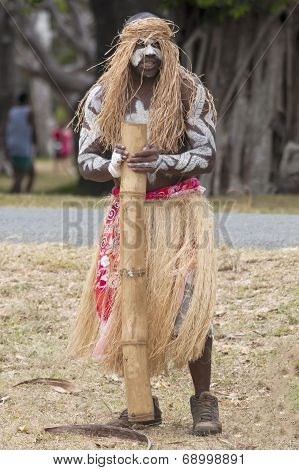 Kanak With Musical Instrument