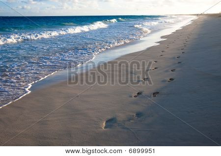 Footprints In The Sunrise