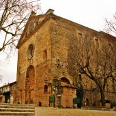 stock photo of chopin  - a view of the valldemossa charterhouse mallorca spain - JPG