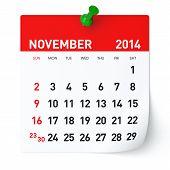 image of calendar 2014  - 2014 year calendar - JPG