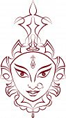 picture of durga  - Durga - JPG