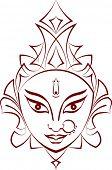 pic of durga  - Durga - JPG