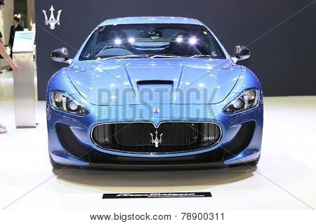 Bangkok - November 28: Image Zoom Of Maserati Car On Display At The Motor Expo 2014 On November 28,