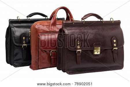 Natural Leather Both Male And Female Briefcases