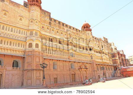 Junagarh Red Fort Bikaner Rajasthan India