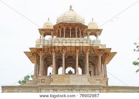Chaurasi Khambon Ki Chhatri 84-pillared Cenotaph Bundi India