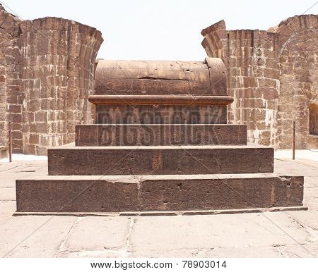Aincent Arches And Tomb Bijapur Karnataka India