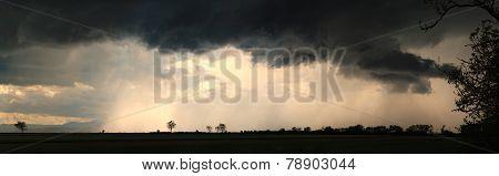 storm clouds panorama