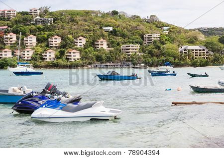 Boats And Jet Skis  By Tropical Resorts