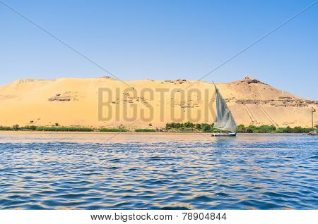 The Lonely Felucca