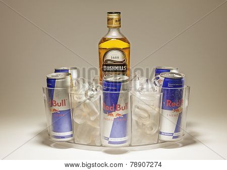 Bushmills And Red Bull