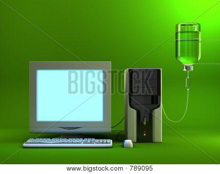 computador infectado