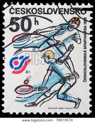 Czechoslovakia Sports And Athletics Meeting