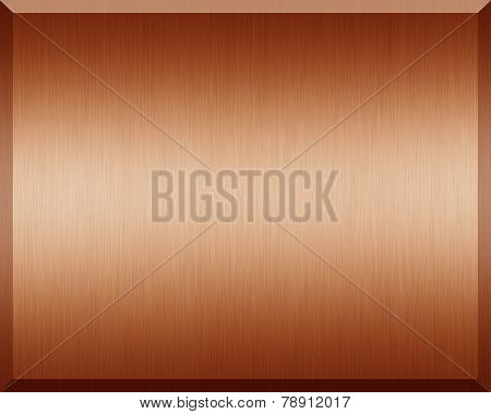 Bronz Plate