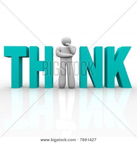 Think - hombre de palabra