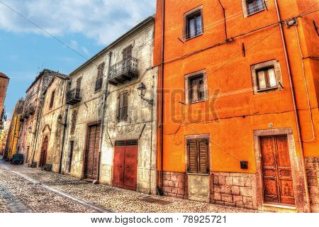 Colorful Backstreet In Bosa