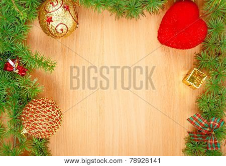 Family Or Business Greeting Card For New Year's Holidays